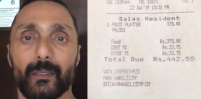 Hotel fined Rs 25k for Overcharging Rahul Bose for Bananas f
