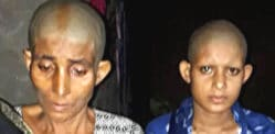 Indian Mother and Daughter's Head Shaved for Resisting Rape