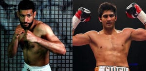 India's Vijender Singh challenges Amir Khan for a Fight f