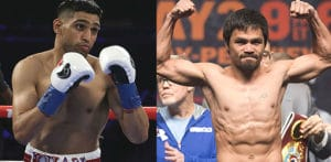 Is Amir Khan fighting Manny Pacquiao or Not f