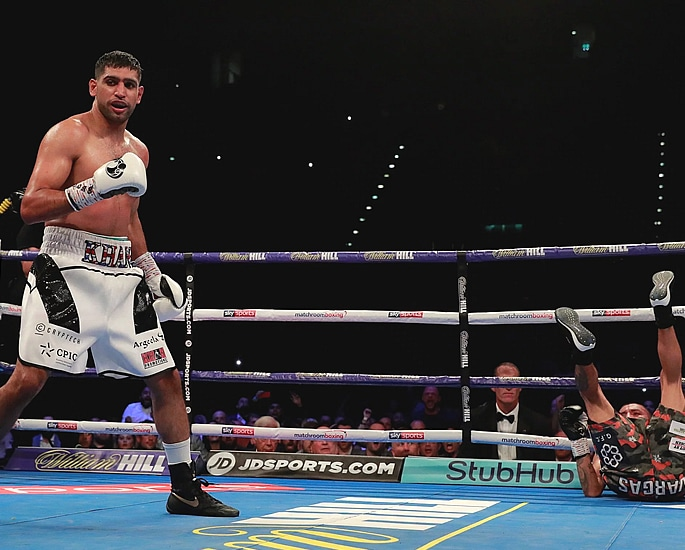 Is Amir Khan fighting Manny Pacquiao or Not