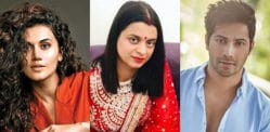 Kangana's Sister Rangoli blasts Taapsee Pannu & Varun Dhawan