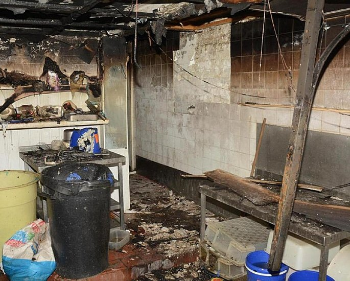 Man jailed for Setting Takeaway on Fire for 'Owed Wages' 2