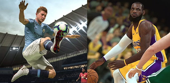 Most Popular Console Sports Games of 2019 f