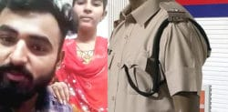 Newly Married Intercaste Couple plea for Police Protection