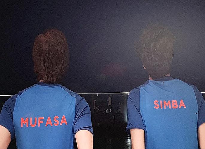 SRK and Son Aryan Khan voice Disney's Lion King 2