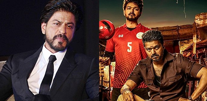 SRK to play Villain in South Indian Film Bigil f