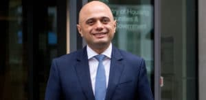 Sajid Javid appointed first Asian Chancellor in UK Cabinet f