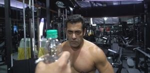 Salman Khan does the Bottle Cap Challenge with a Twist f