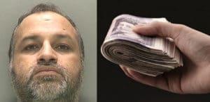 स्नूकर क्लब प्रबंधक ने गवाह f को £ 5k रिश्वत देने के लिए जेल में डाल दिया