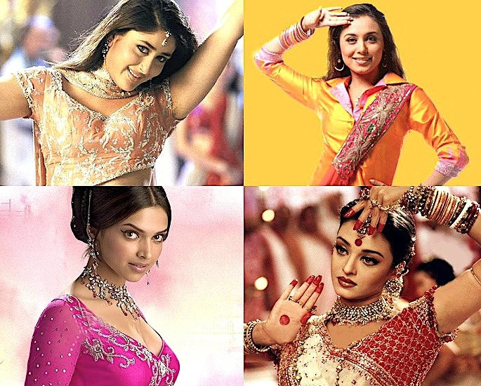 The Evolution of Bollywood Fashion from Sarees to Dresses - IA 3