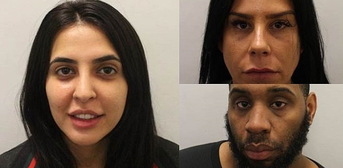 Three People Convicted of Robbery at Commercial Business f