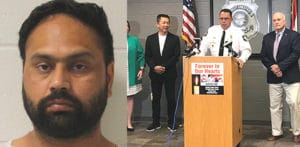 US Indian charged with Killing Wife & 3 Family Members f