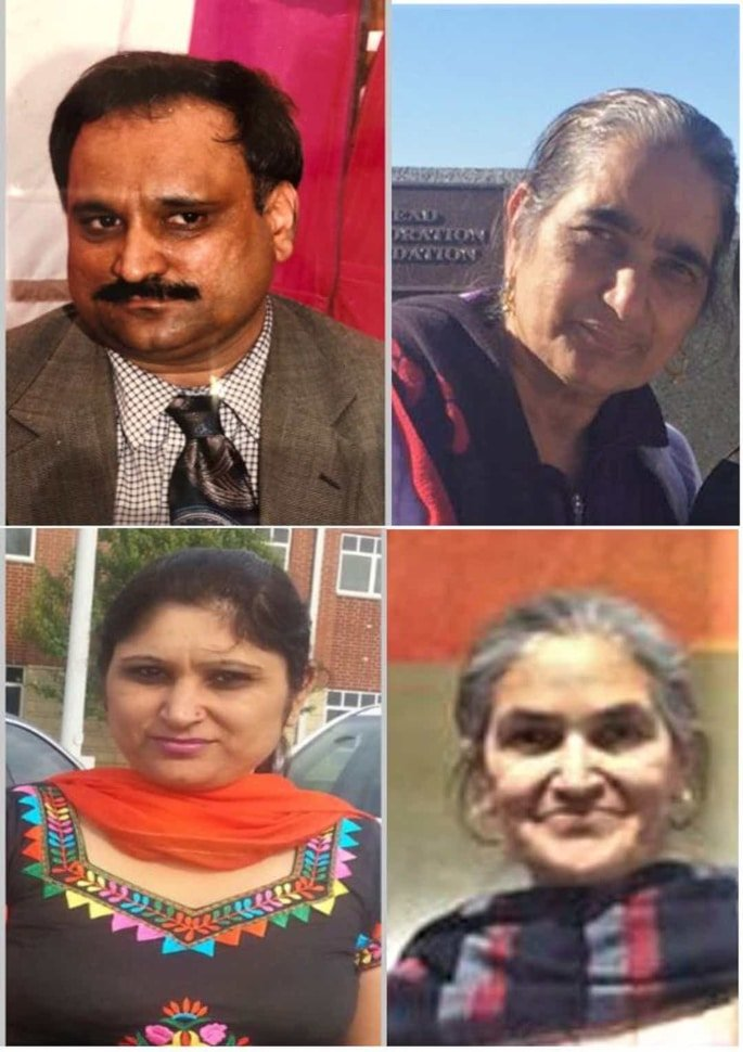 US Indian charged with Killing Wife & 3 Family Members