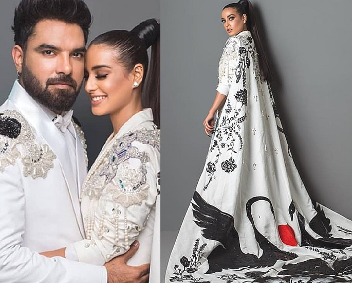 Yasir Hussain proposes to Iqra Aziz at Lux Style Awards 2019