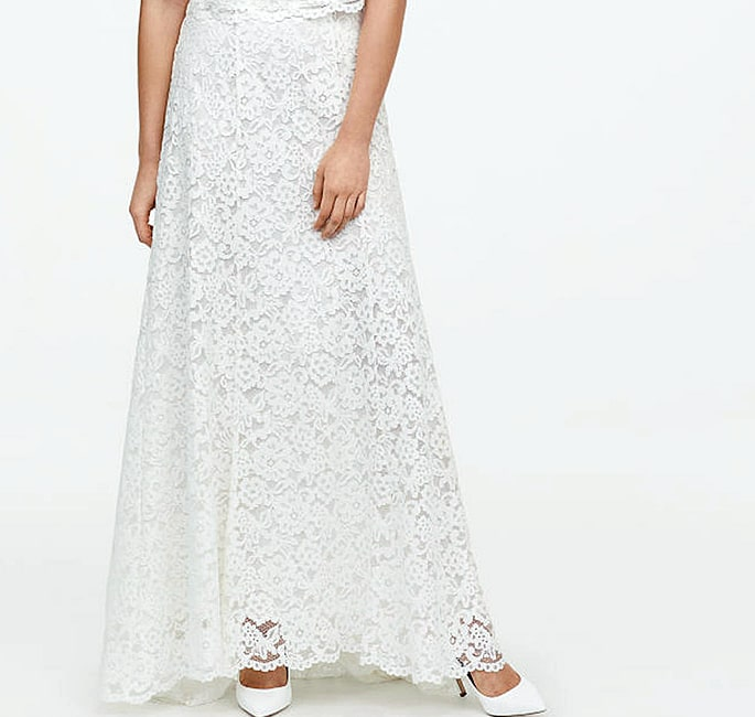 7 Modest Skirts for Modern Women - Lace Skirt