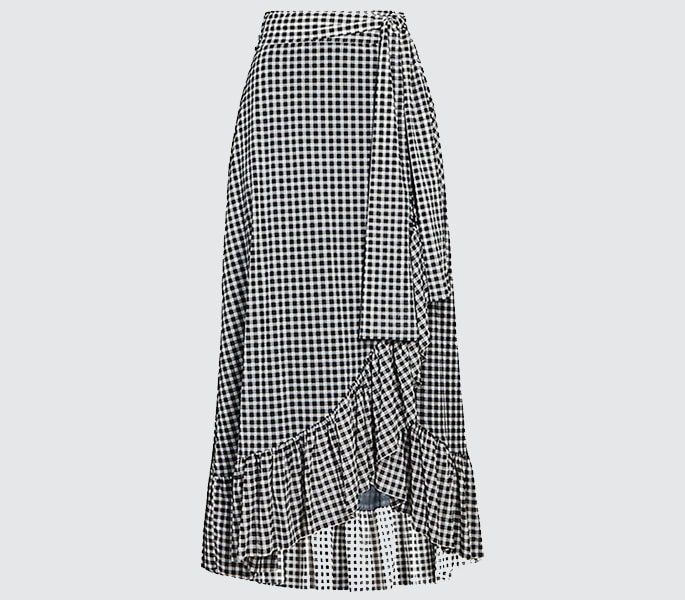7 Modest Skirts for Modern Women - Wrap Skirt