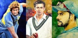 6 Best Paintings of Desi Cricket Players