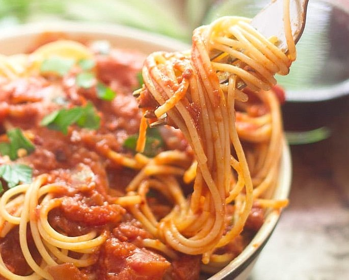 7 Indian Pasta Recipes to Make and Enjoy - spicy tomato