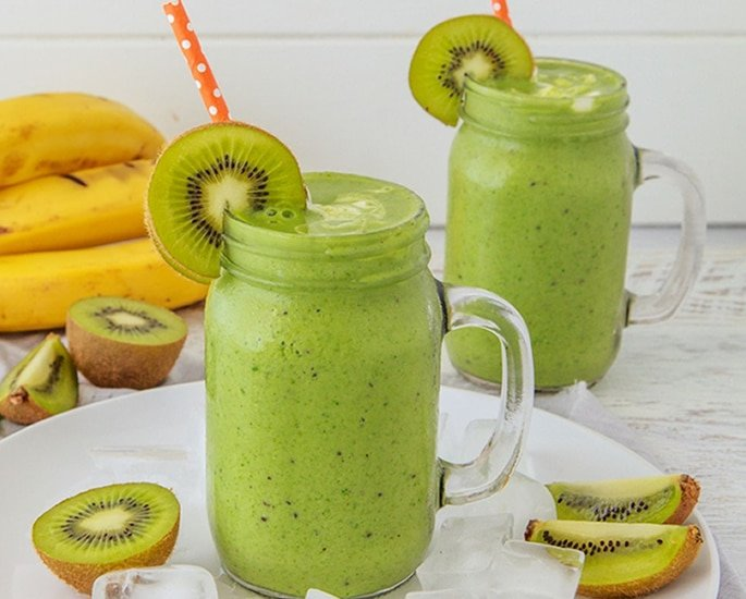 7 Refreshing Indian-Style Smoothie Recipes to Make at Home - kiwi