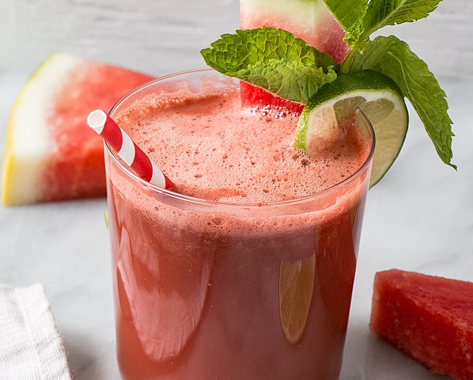 7 Refreshing Indian-Style Smoothie Recipes to Make at Home - watermelon