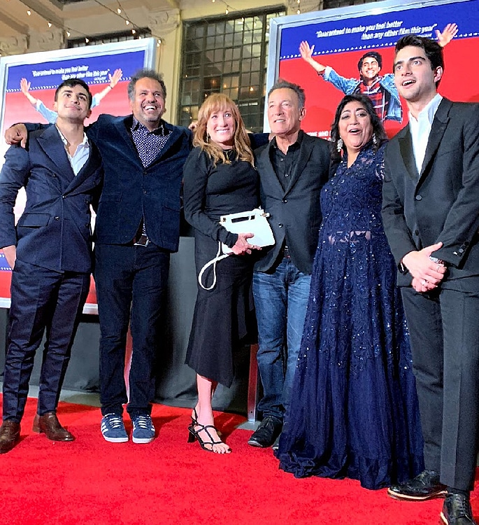 Bruce Springsteen attends 'Blinded By The Light' US Premiere 2