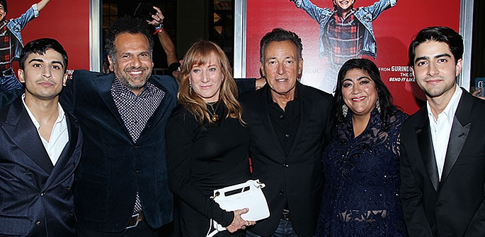 Bruce Springsteen attends 'Blinded By The Light' US Premiere f