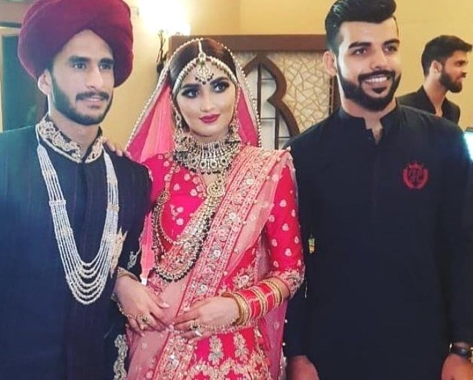 Cricketer Hasan Ali and Shamia Arzoo get Married in Dubai 3