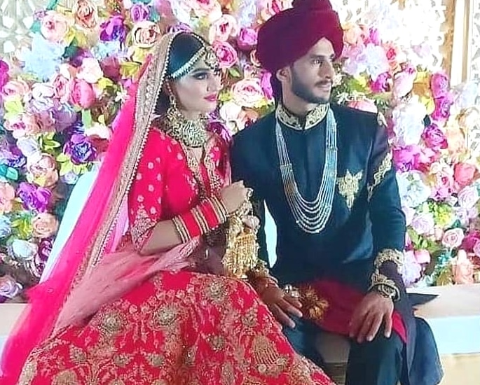 Cricketer Hasan Ali and Shamia Arzoo get Married in Dubai 4