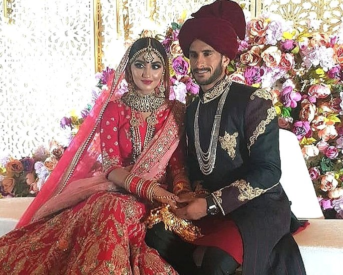 Cricketer Hasan Ali and Shamia Arzoo get Married in Dubai 5