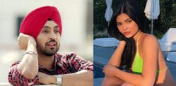 Diljit Dosanjh reacts to Kylie Jenner Bikini Photo