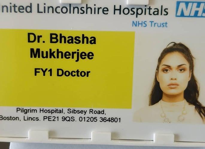 Dr Bhasha Mukherjee is crowned Miss England 2019 2
