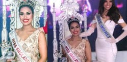 Dr Bhasha Mukherjee is crowned Miss England 2019