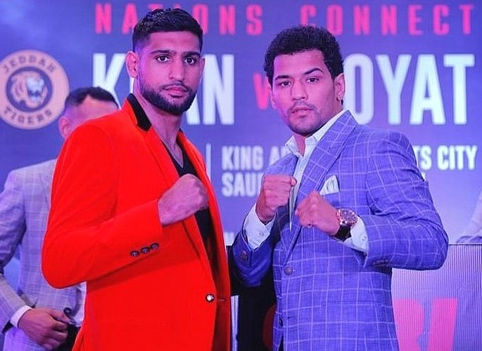'Gangster' Indian Boxer Neeraj Goyat ready for Amir Khan