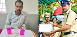 Indian Cop busted for Rs 17k Bribe after 'Best Policeman Award'