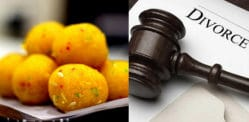 Indian Man wants Divorce after Wife Fed him only Laddoos