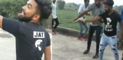 Indian Youth celebrates Birthday by Shooting his Cake