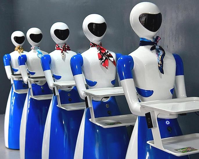 भारत के बेंगलुरु को अपना पहला रोबोट रेस्तरां 4 मिला