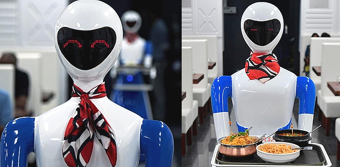 India's Bengaluru gets its First Robot Restaurant f