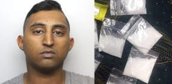 Man jailed after being Found with Cocaine Stash worth £20k