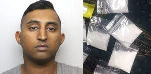 Man jailed after being Found with Cocaine Stash worth £20k f