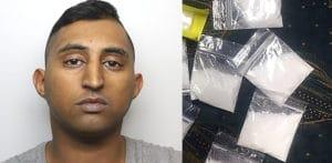 20k f किंमतीची कोकेन स्टॅश सापडल्यानंतर माणसाला तुरूंगात डांबले