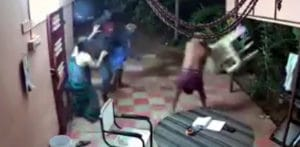 Old Indian Couple stop Armed Robbers by Fighting Back