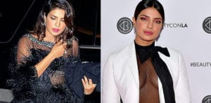 Priyanka Chopra slays in Black Dress and White Suit f