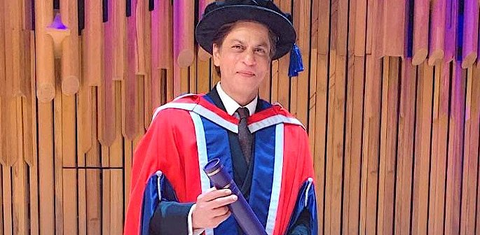 SRK receives Doctorate Degree from a Melbourne University f