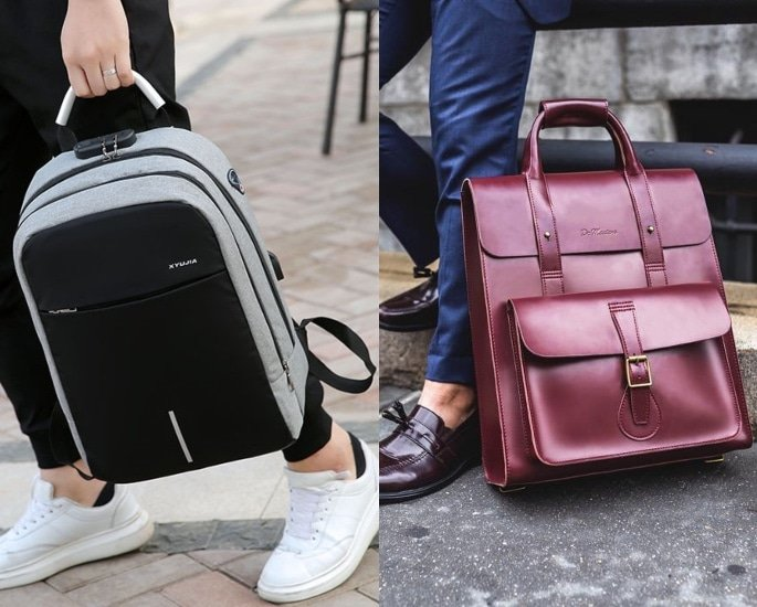 Top 7 Man Bags which are Stylish and Practical - backpacks