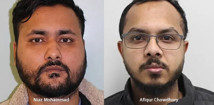 Two Men linked to £1m Organised Crime Network jailed f