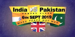 Win Tickets for India vs Pakistan Peace Comedy Show 2019