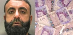 £470k Seized from Money Launderer who 'Won Lottery' in Pakistan