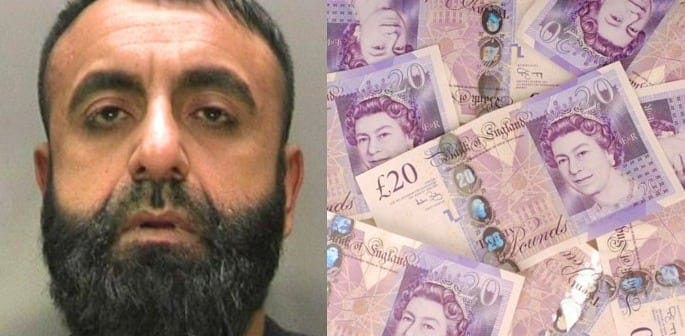 £470k Seized from Money Launderer who 'Won Lottery' in Pakistan f